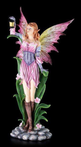 Elfen Figur - Arela hält Laterne