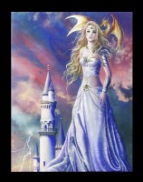 Small Canvas with Fairy - Asiria Spark