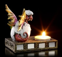 Tealight Holder - Dragon hatches from egg