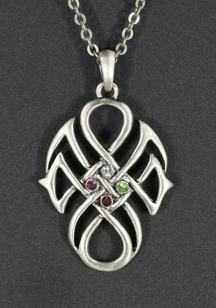 Halskette - Keltischer Knoten