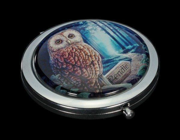 Taschenspiegel mit Eule - Way of the Witch