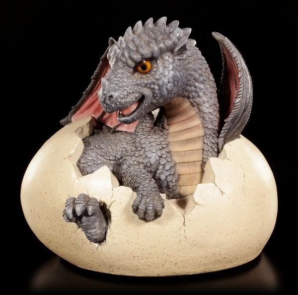Garden Figurine - Dragon Feo hatches from Egg