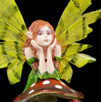 Small Fairy Figure with green Wings