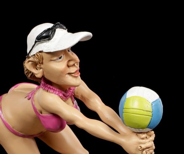 Funny Sports Figurine - Beach Volleyballer