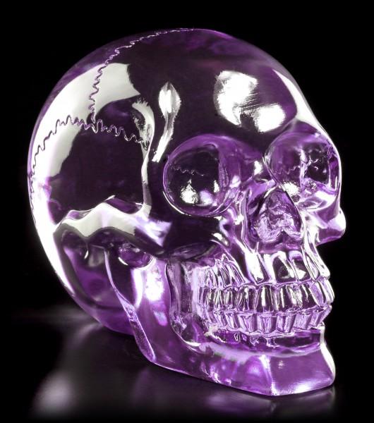 Translucent Skull - Light Purple