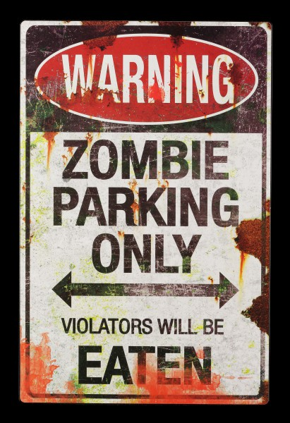 Metal Shield - Zombie Parking