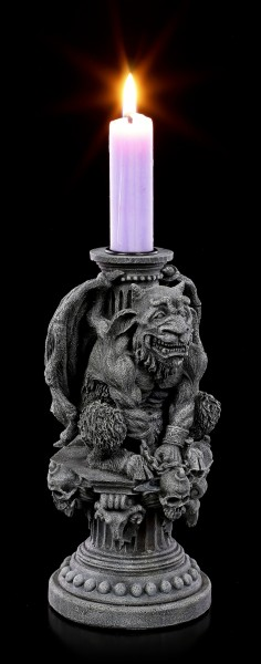 Gargoyle Candle Holder - Hugo the Light Keeper
