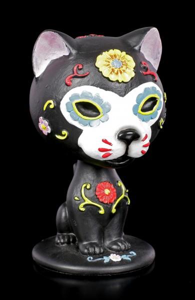 Bobblehead Figurine - Cat Bob De Los Muertos