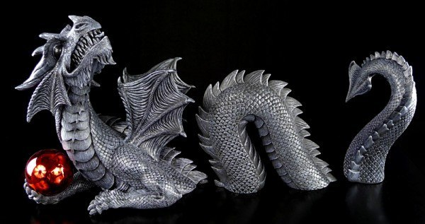 Dragon Set black with ball - In - & Outdoor