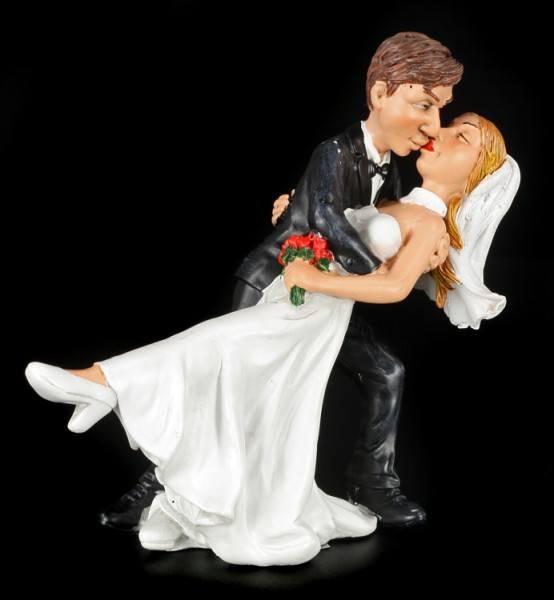 Filmreifer Kuss - Lustige Brautpaar Figur