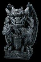 Large Gargoyle with Sword