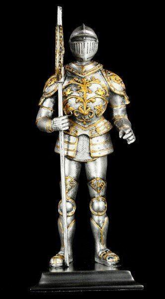 Ritter Figur mit Hellebarde