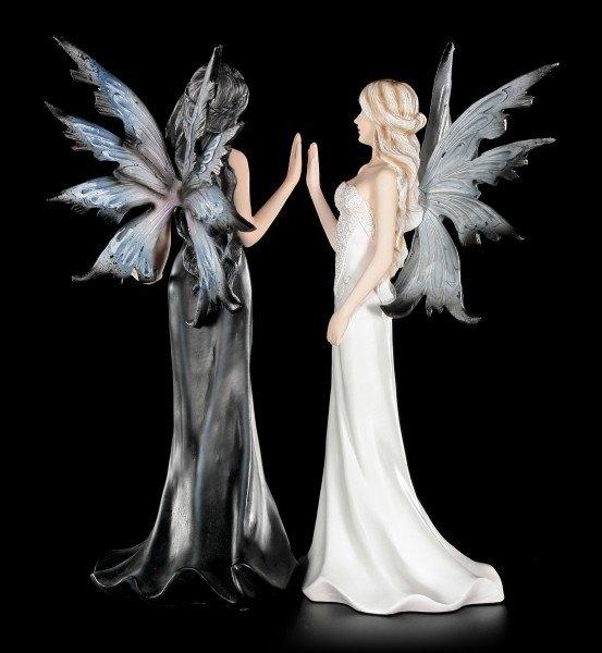 Elfen Figuren - Der Tanz von Tag und Nacht
