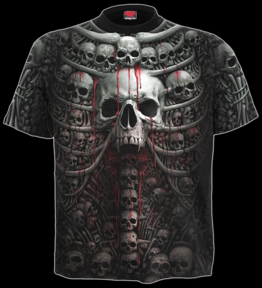 Death Ribs - Skull T-Shirt