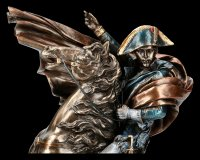 Napoleon Bonaparte Figur mit Pferd