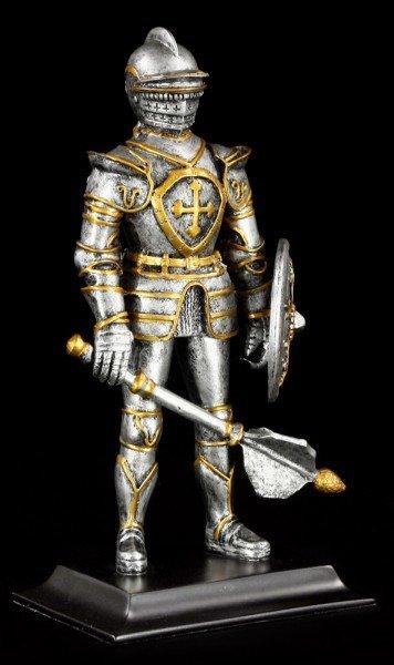 Ritter Figur mit Keule & Schild