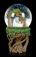 Snowglobe Unicorn - Pure Heart by Anne Stokes