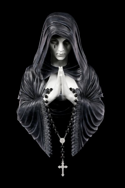 Anne Stokes Wandrelief - Gothic Prayer