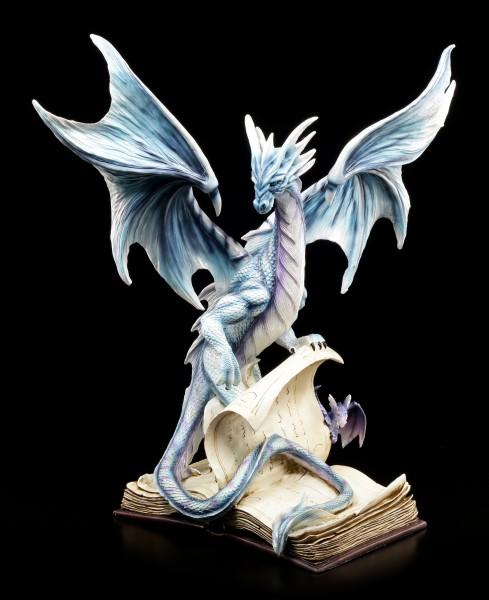 Drachen Figur - Der Bücherwächter mit Schüler