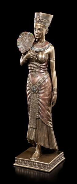 Kleopatra Figur - Stehend mit Fächer