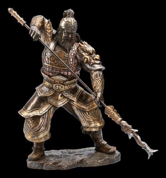 Chinesische Krieger Figur - Zhang Fei