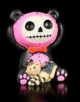 Furry Bones Figur - Pink Pandie