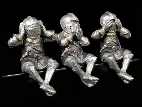 Ritter Figuren Kantenhocker - Nichts Böses