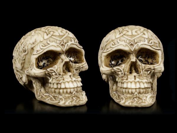 Celtic Skulls - Set of 2
