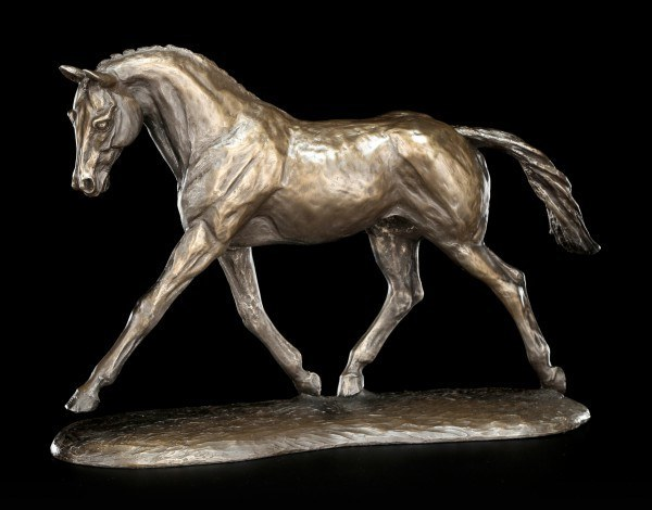 Pferde Figur - Trotting Warmblood - by Harriet Glen