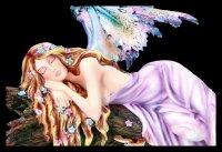 Fairy Figurine - Drema Sleeping on Tree