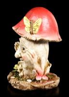 Mushroom People Figurine - Tim