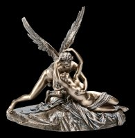 Eros and Psyche Figurine by Antonio Canova - bronzed