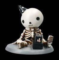 Skelett Figur - Lucky hat Geburstag