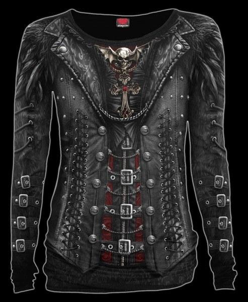 Damen Langarmshirt Gothic - Gothess