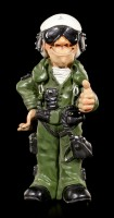 Jet Pilot Figurine - Thumbs Up - Funny Jobs