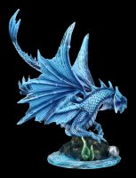 Drachen Figur - Adult Water Dragon