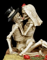 Skelett Brautpaar Figur - Love Never Dies