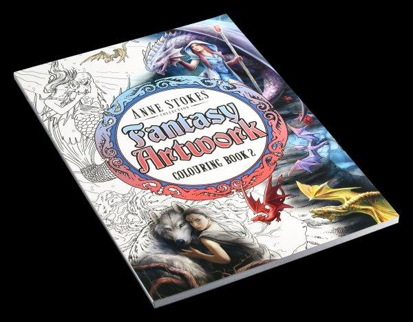 Fantasy Artwork Malbuch - Anne Stokes