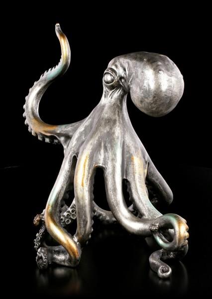 Octopus Figurine with raised Tentacle