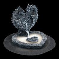 Backflow Räucherhalter - Drachen-Herz