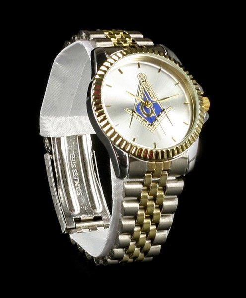 Armbanduhr - Freimaurer Kompass