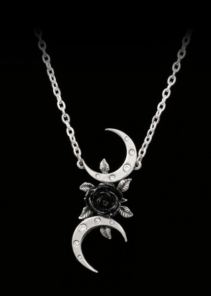 Alchemy Necklace - The Black Goddess