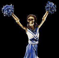 Skelett Figur - Cheerleader