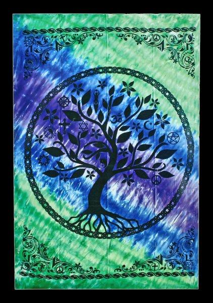 Wandteppich - Lebensbaum