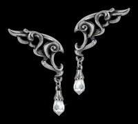 Alchemy Gothic Ohrringe - Wings of Eternity