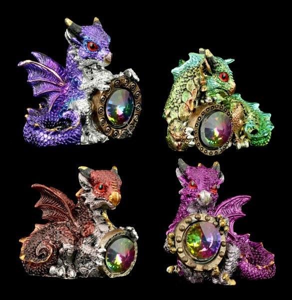 Dragon Figurines Set of 4 - Dragon's Reward
