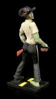 Zombie Figur - Sheriff mit Gewehr