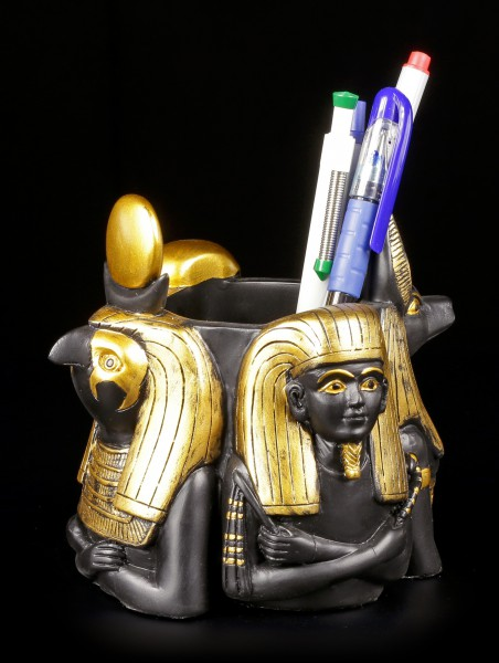 Penholder - Egyptian Deities