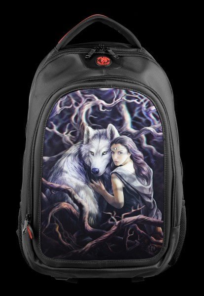3D Backpack with Wolf - Soul Bond