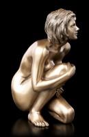 Female Nude Figurine - Looking Up
